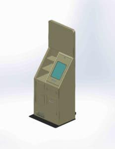 custom kiosk drawing example