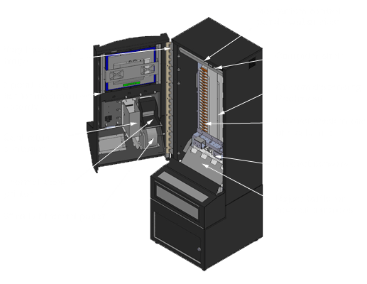 Custom kiosk cabinets kiosk manufacturers technik mfg - Custom cabinet companies ...