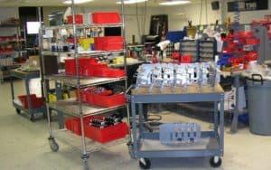 technik mfg custom kiosk manufacturer production facility