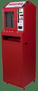 4 column pull tab vending machine