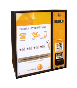 Prepaid Phone Card Vending Machine Picture