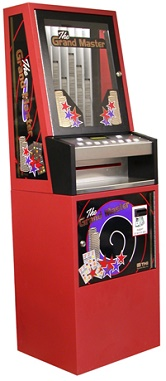 grand master vending machine red
