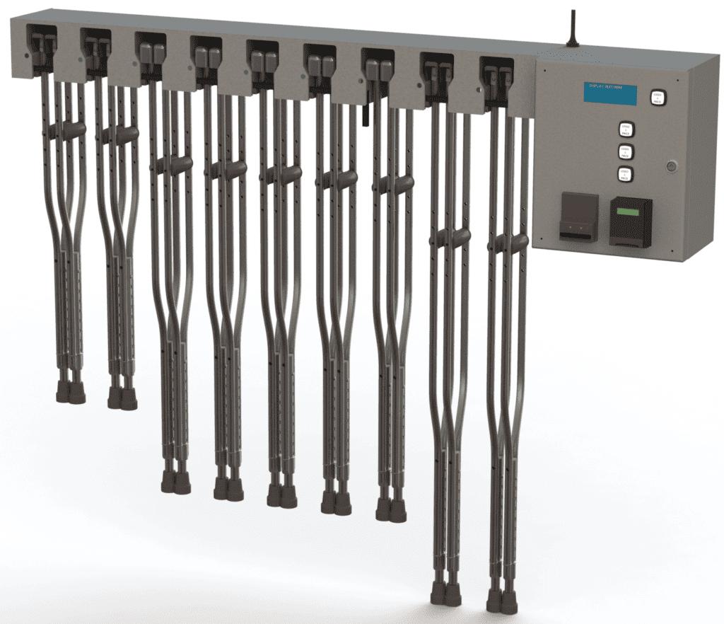 9 sets - Crutch Kiosk