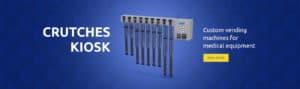 Crutches vending machines slide
