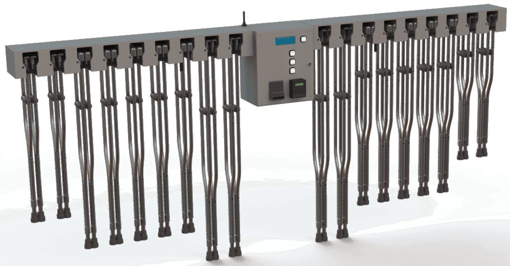 18 sets - crutch kiosk